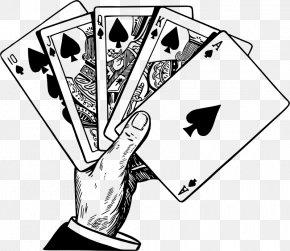 Royal Flush - Playing Card War Flush Clip Art PNG