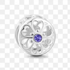 Jewellery - Jewellery Amethyst Charm Bracelet Silver PNG