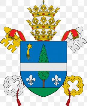 Pope Vector - Pope Papal Coats Of Arms Vatican City Coat Of Arms His Holiness PNG