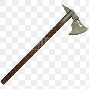 Medieval - Middle Ages Throwing Axe Battle Axe Dane Axe PNG