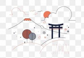 Japan Vector Pattern - Su014draku-en Euclidean Vector Drawing Illustration PNG