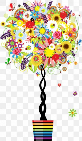 -painted Material - Tree Clip Art PNG