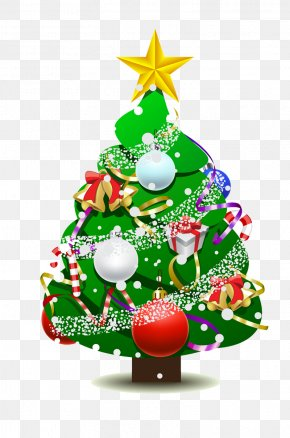 Christmas Tree - Christmas Tree Christmas Ornament Holiday PNG