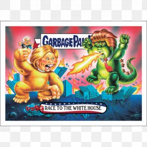 Toy - Garbage Pail Kids Sticker Toy Topps Collectable Trading Cards PNG