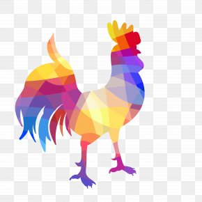 Cock - Rooster Geometry Geometric Shape PNG