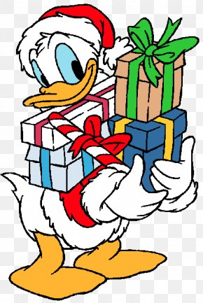 Donald Duck - Donald Duck Mickey Mouse Goofy Daisy Duck Christmas Day PNG