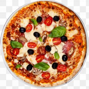 Pizza - New York-style Pizza Italian Cuisine Take-out Pizza Margherita PNG