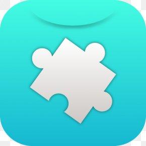 Creative Idea - Blue Turquoise Leaf Aqua Circle PNG