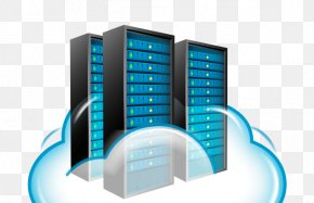 Cloud Computing - Cloud Computing Web Hosting Service Dedicated Hosting Service Computer Servers Cloud Storage PNG