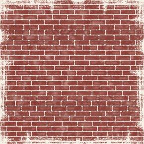 Red Brick Wall - Paper Stone Wall Brick Wallpaper PNG