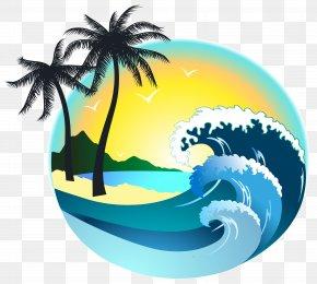 Summer Sea Decor Clipart Image - Beach Clip Art PNG