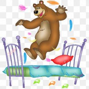 Brown Bear Cartoon - Brown Bear Carnivora Clip Art PNG