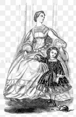 Dress - Dress Sketch Illustration Drawing Clothing PNG