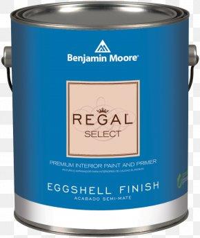 Paint - Benjamin Moore & Co. Paint REGAL CORPORATION Eggshell Material PNG