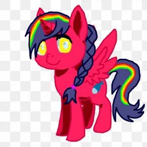 Horse - Illustration Horse Clip Art Pink M Design PNG
