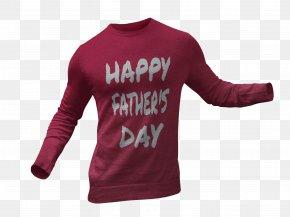 Creative Holiday T-shirt Mockup - Long-sleeved T-shirt Long-sleeved T-shirt Crew Neck Hoodie PNG