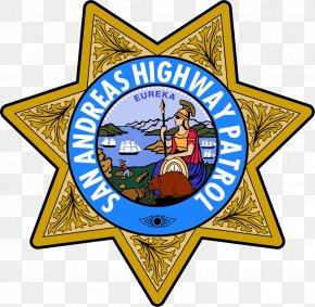 Swat - California Highway Patrol Police San Andreas Interstate 5 In California PNG