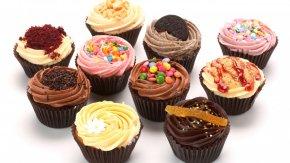 Cupcake - Cupcake Muffin Chocolate Cake Red Velvet Cake Cream PNG