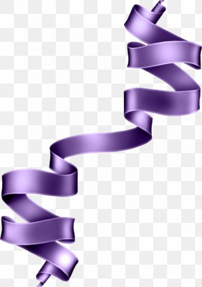 Purple Silk Belt - Ribbon Clip Art PNG