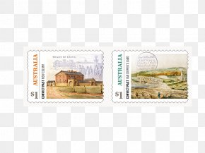Two Adhesive Strips - Sydney Cove Postage Stamps And Postal History Of Australia Australia Post Port Jackson PNG