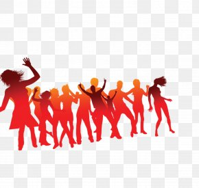 Color Silhouette Figures - Character PNG