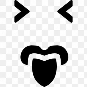 Emoticon Square - Emoticon Tongue Face Mouth PNG