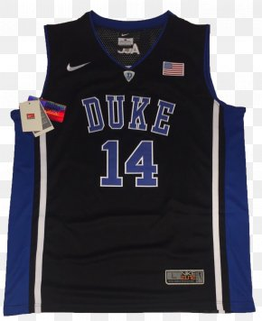 Basketball Uniform - Duke Blue Devils Men's Basketball T-shirt Sleeve Sports Fan Jersey PNG
