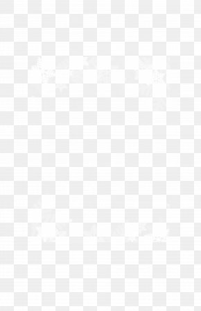 White Snowflake Frame - White Textile Black Angle Pattern PNG