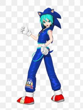 Hatsune Miku - Hatsune Miku: Project Diva X Sega Vocaloid Sonic The Hedgehog PNG