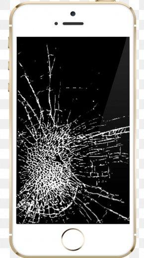 Broken Ipad - IPhone 5 Computer Apple Smartphone Touchscreen PNG