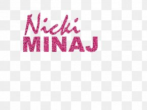 Nicki Minaj - Logo Communication Design Font PNG