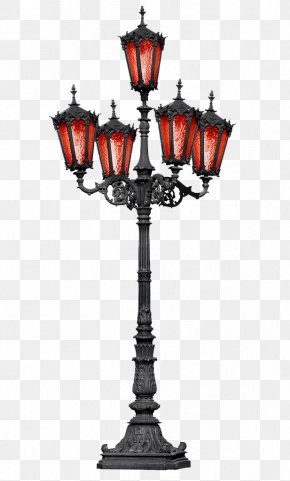 European Classical Street Lights - Street Light Photography Lantern PNG