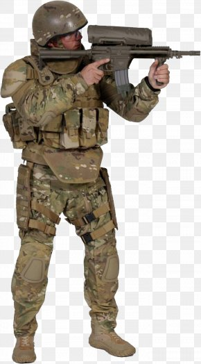Soldier - Military Soldier Weapon Firearm PNG
