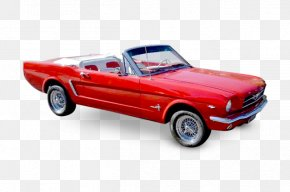 Classic Cars Mustang - Tether Car First Generation Ford Mustang Convertible PNG