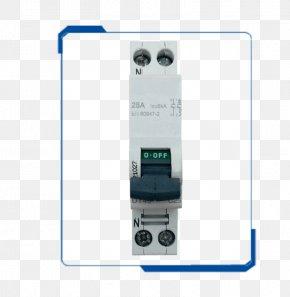 Circuit Breaker - Circuit Breaker Electrical Network Wiring Diagram Contactor Electricity PNG
