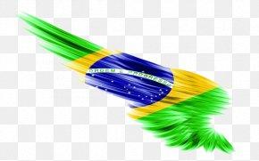 Flag - Flag Of Brazil Desktop Wallpaper Brazil National Football Team PNG