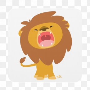 Lion - Lion Roar Drawing Cartoon PNG