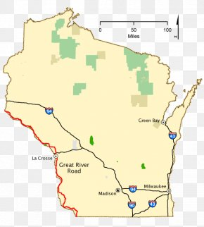 Map - Wisconsin Map National Scenic Byway Scenic Route Washington, D.C. PNG