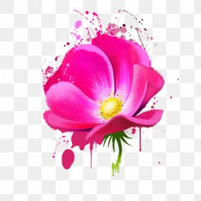 Flower - Floral Design Flower Watercolor Painting PNG