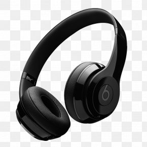 Black Headphones - Headphones AirPods Audio IPhone 7 Beats Electronics PNG
