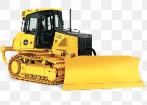 Bulldozer - John Deere Bulldozer Heavy Machinery Tractor Loader PNG