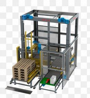 Box - Paletizado Automático Almacenaje Conveyor Belt Transport PNG