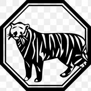 Tiger - Tiger Felidae Chinese Zodiac Clip Art PNG