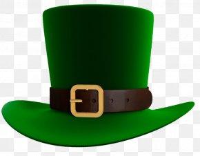 Leprechaun Hat Cliparts - Ireland Saint Patrick's Day Hat Leprechaun Clip Art PNG