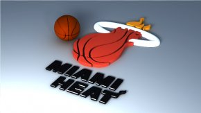 Miami Heat Cliparts - Miami Heat NBA Basketball Wallpaper PNG
