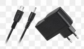 USB - Battery Charger Samsung Galaxy Tab 7.0 Micro-USB Krüger & Matz Adapter PNG