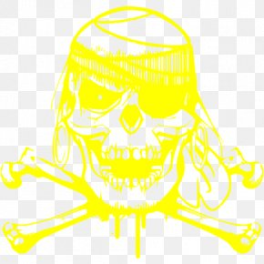 Skull - Jaw Skull And Crossbones Clip Art PNG