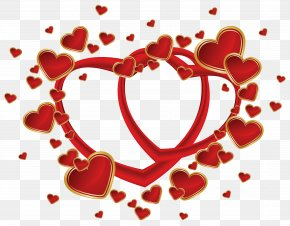 Thank You For Red - Valentine's Day Heart Clip Art PNG