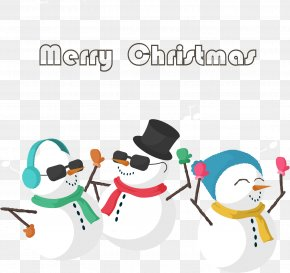 Snowman Christmas Party - Christmas Icon PNG