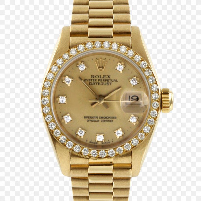 Rolex Datejust Rolex Daytona Rolex Submariner Watch, PNG, 1000x1000px, Rolex Datejust, Beige, Bezel, Brand, Brown Download Free